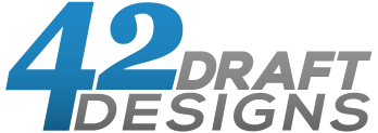 42 Draft Designs Logo
