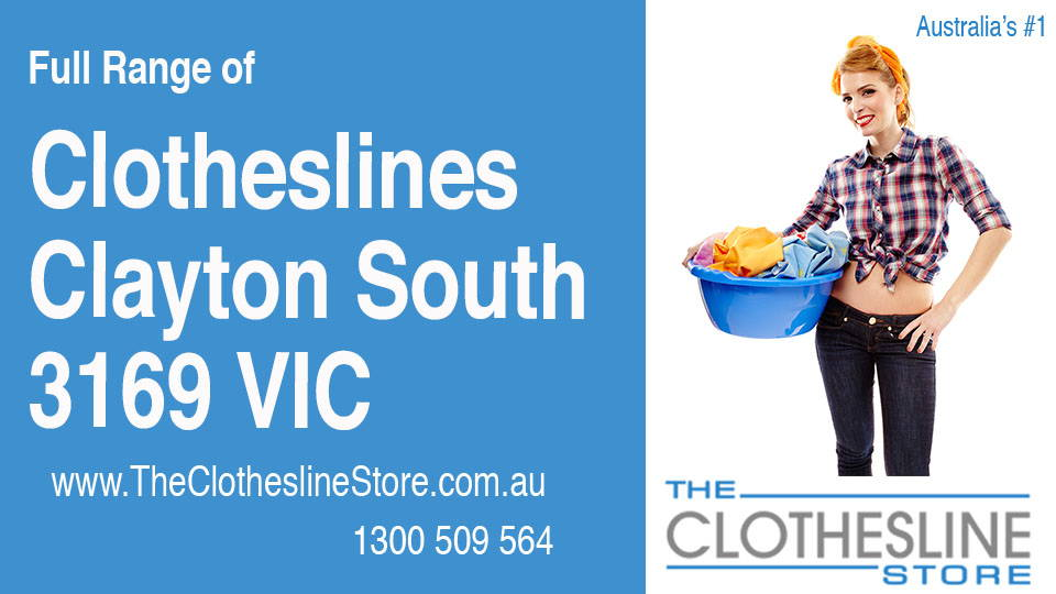 New Clotheslines in Clayton South Victoria 3169