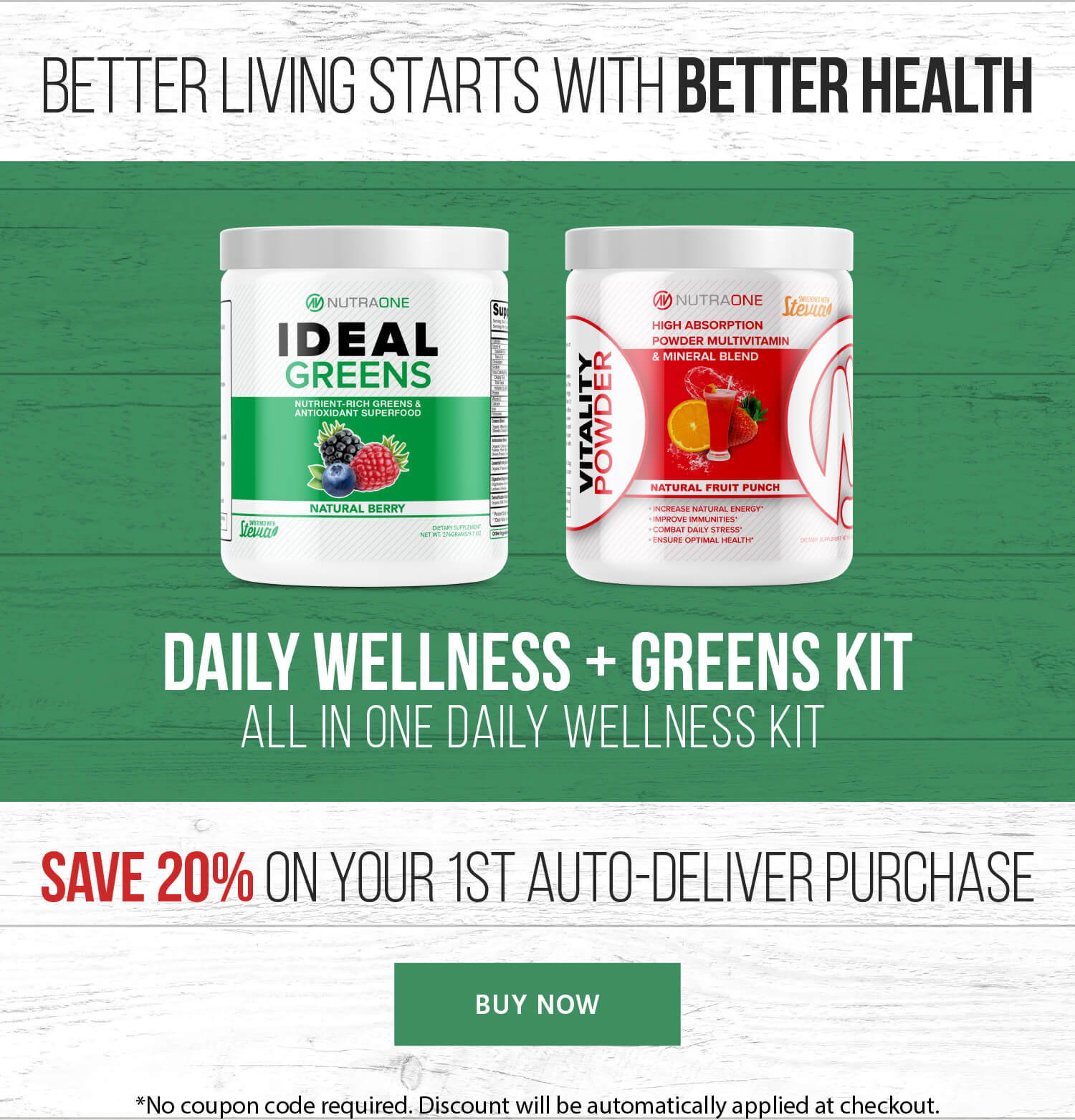 5 Star Nutrition Save 20% on your 1st auto Deliver purchase