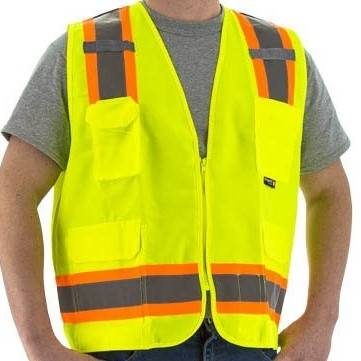 High visibility safety vests from X1 Safety