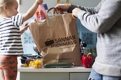 Ruokakassi, raaka-aineet ja reseptit kotiin kuljetettuna