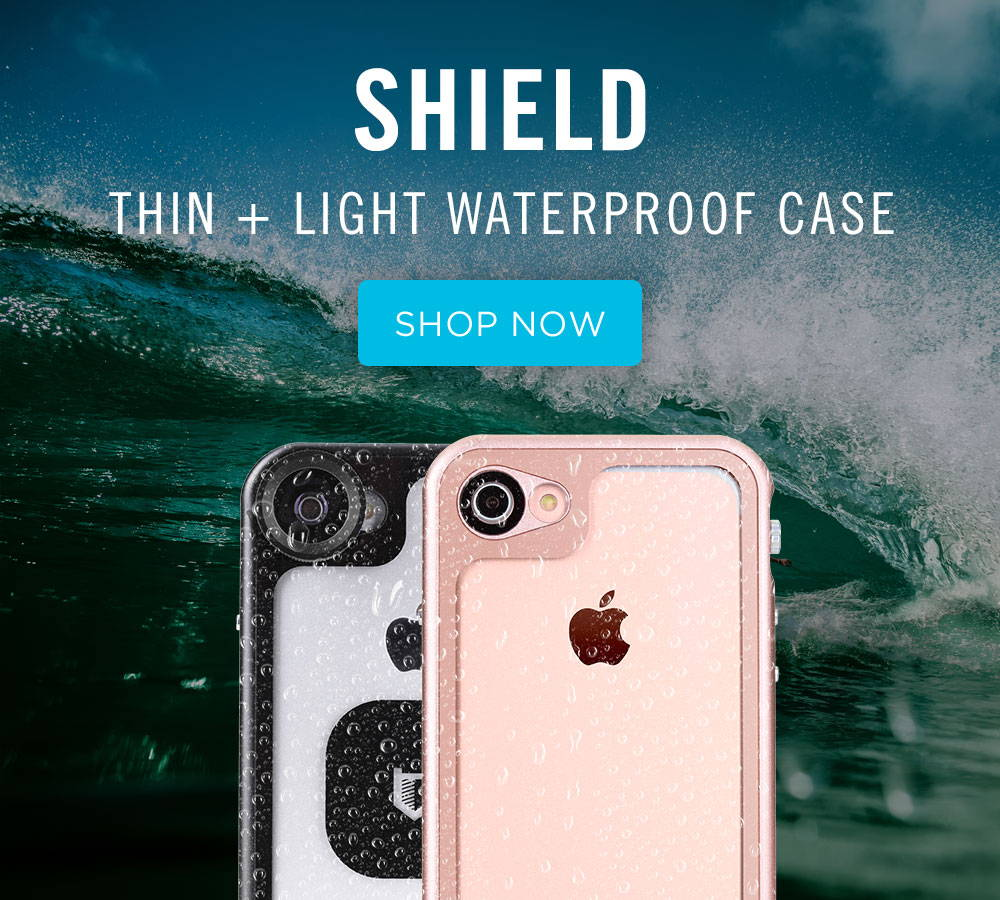 hitcase shield thin and light waterproof case