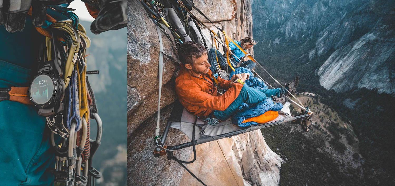 Mountain climbers using the COROS VERTIX 2