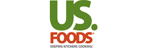 US. Foods, logo - Bagelinos Gluten Free Bagels and Buns