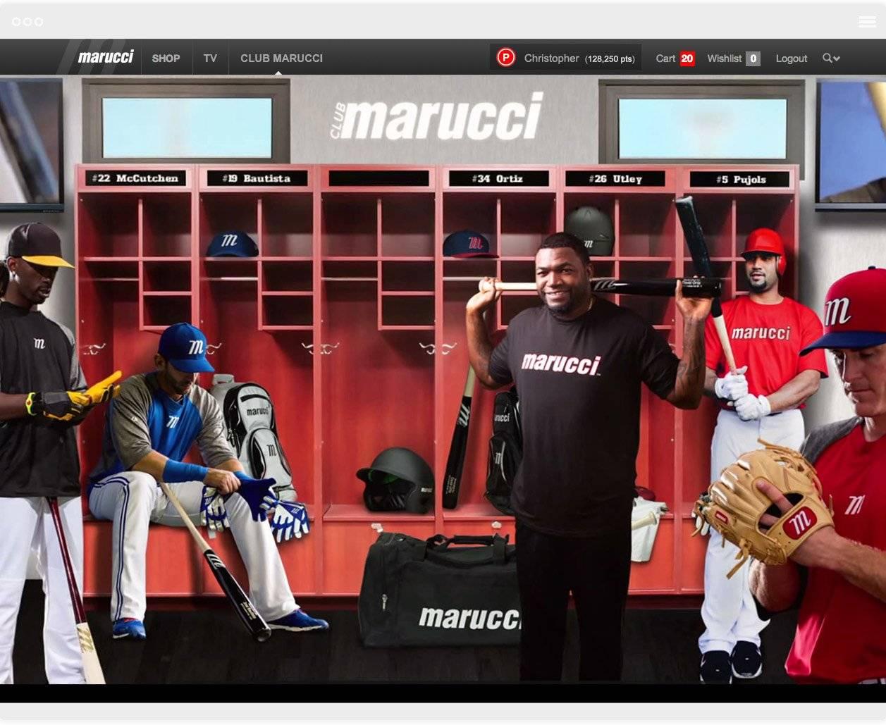 Marucci The Challenge 1 Magento Development