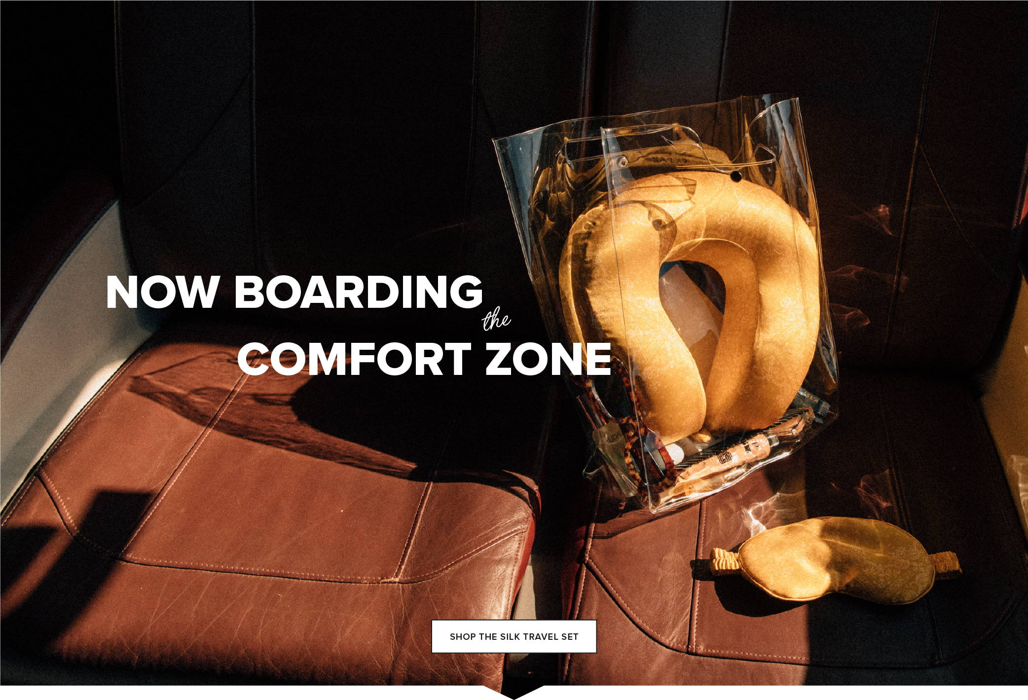 Now Boarding the Comfort Zone
