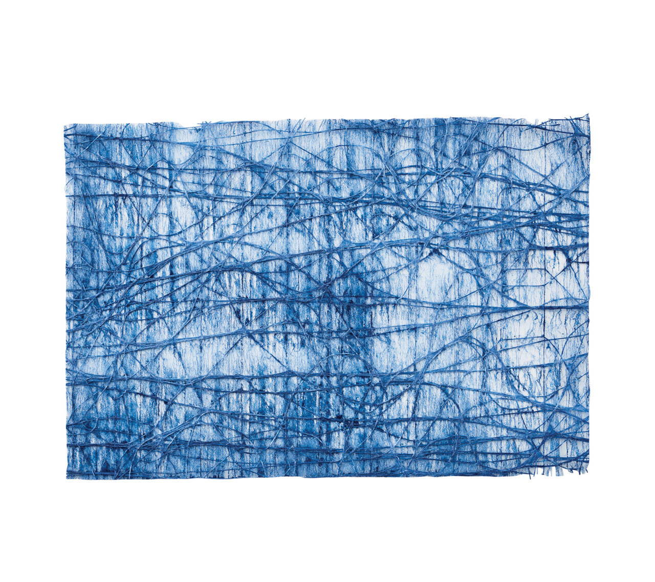 TANGLE PLACEMAT IN BLUE S/12