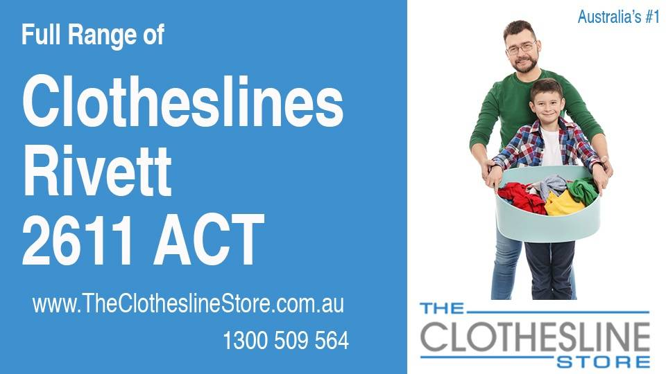 New Clotheslines in Rivett ACT 2611