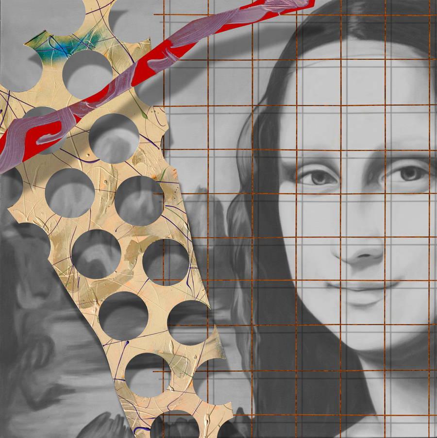Modern Art. Mona Lisa. Shanan Campbell. Sorrel Sky Gallery. Art Advisor. Art Consultant. Corporate Art. Private Art Collection. Santa Fe Art Gallery
