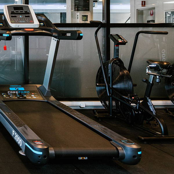 Hotel Gym Fit Out Treadmill