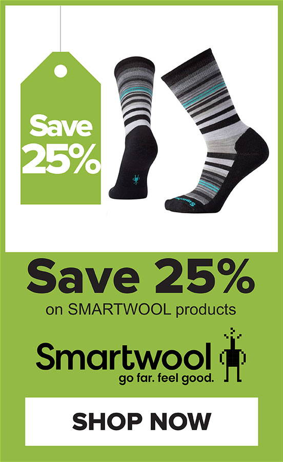 25% Off Smartwool