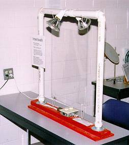 Haunted Lab Exhibits