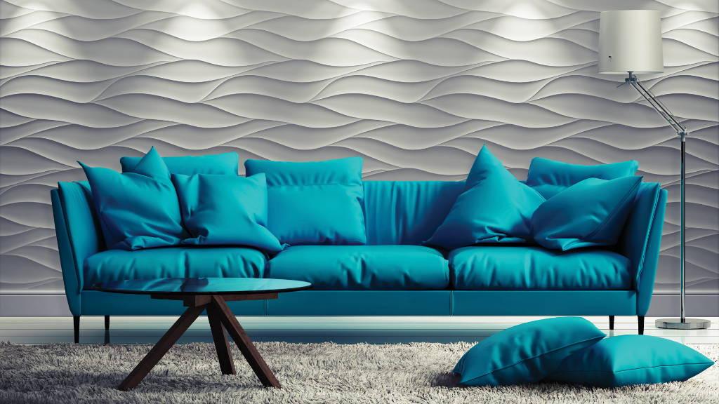 3D Wall panel Sandstorm