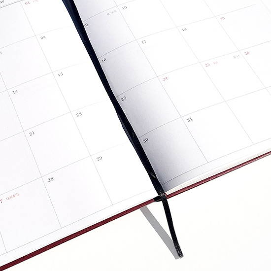 Bookmark - O-CHECK 2020 Mon journal A5 dated weekly agenda planner
