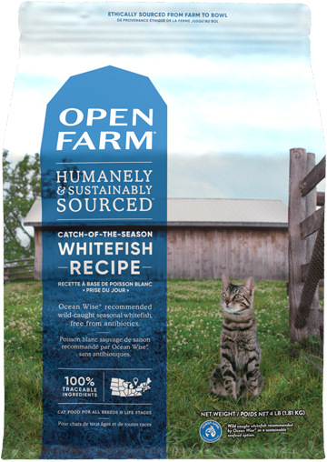 Catch-of-the-Season Whitefish Dry Cat Food