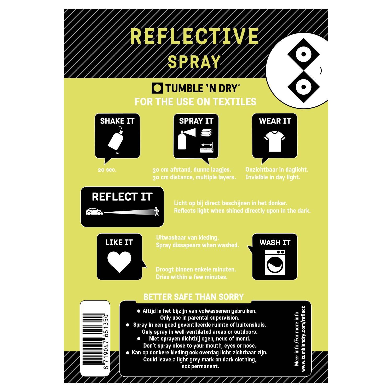 handleiding reflective spray