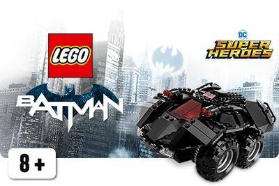 Kauko-ohjattava LEGO Batmobile