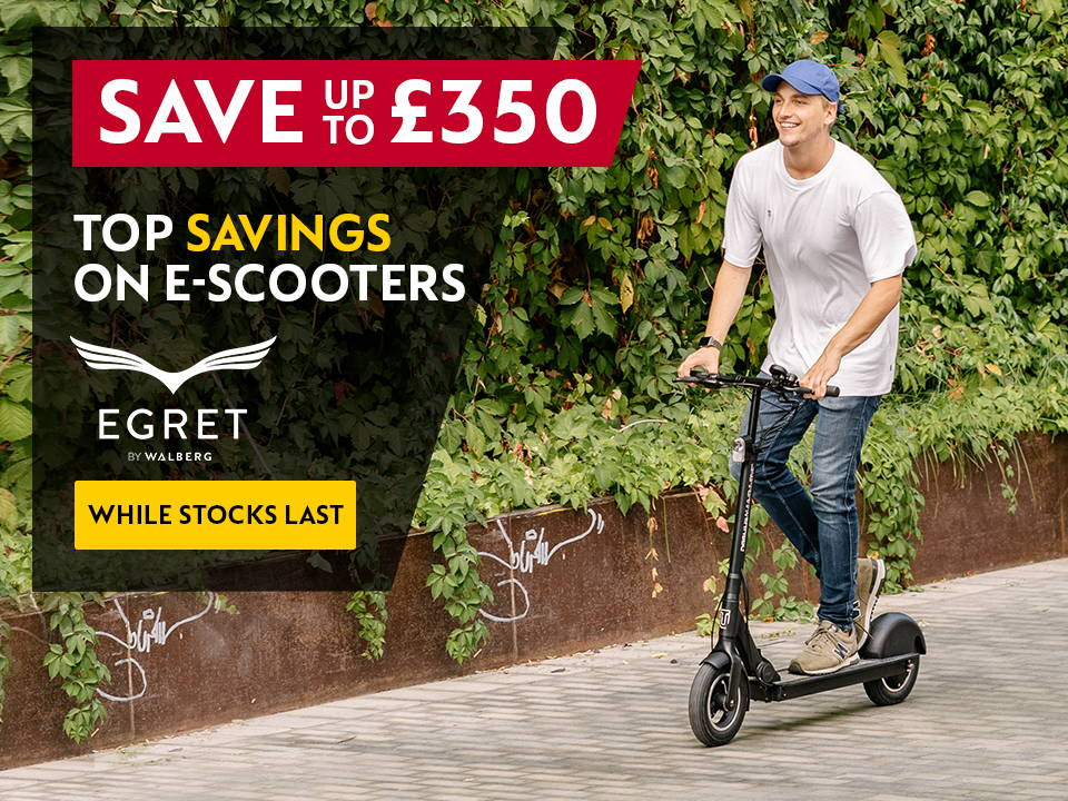 save up to £350 on egret walberg