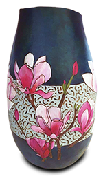 This beautiful vase with filigree carving was made by Debb Doyle Chiappisi. Thank you, Debb, for sharing your art with us on Facebook!