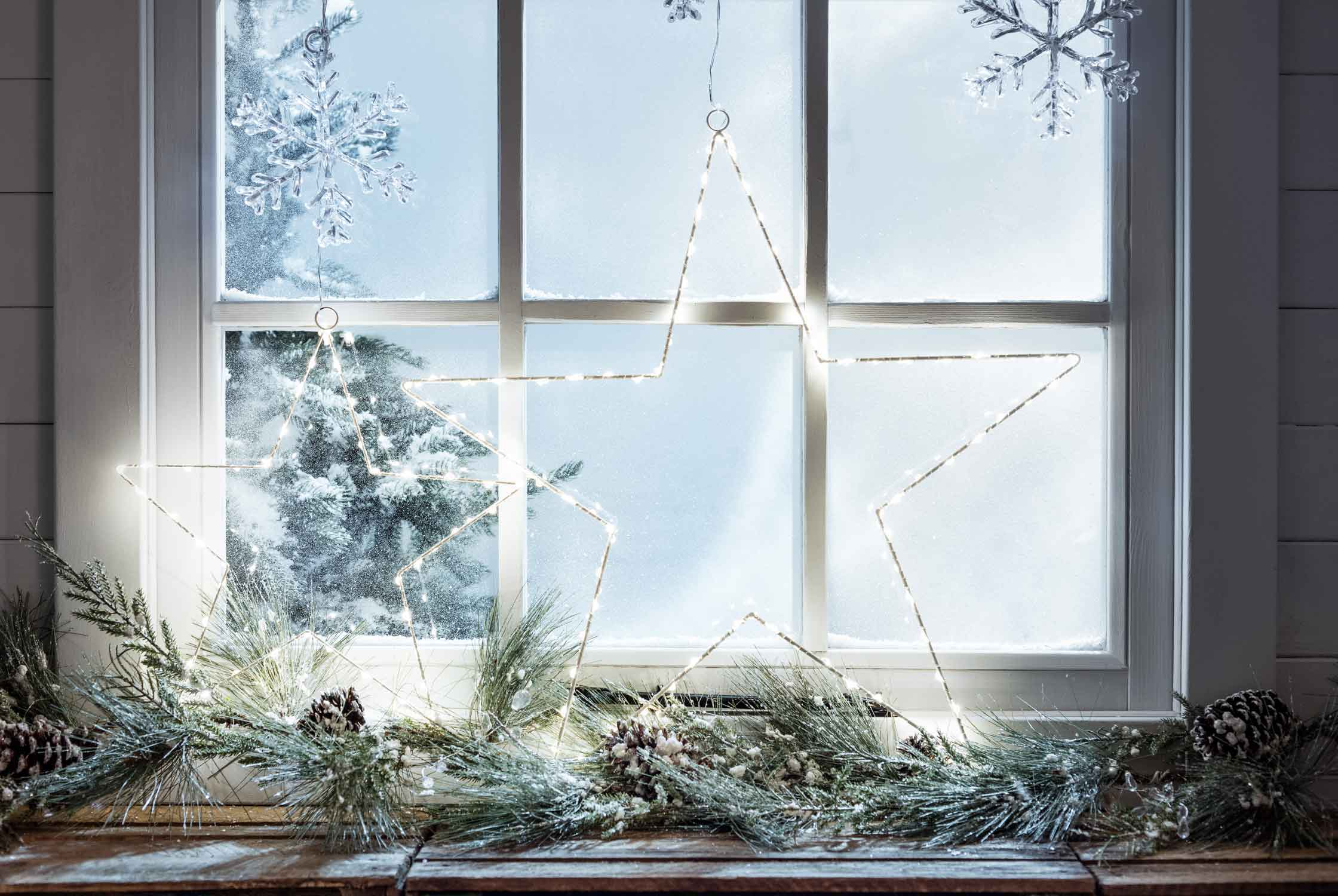 Christmas Window.Christmas Window Light Ideas Lights4fun Co Uk