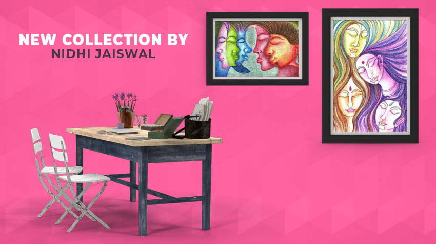 New Paintings by Nidhi Jaiswal