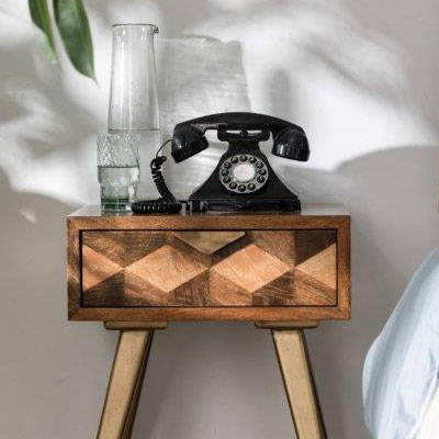 Mayfair Contemporary Bedside Cabinet