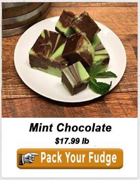 Mint Chocolate Fudge From Uranus Christmas Gift