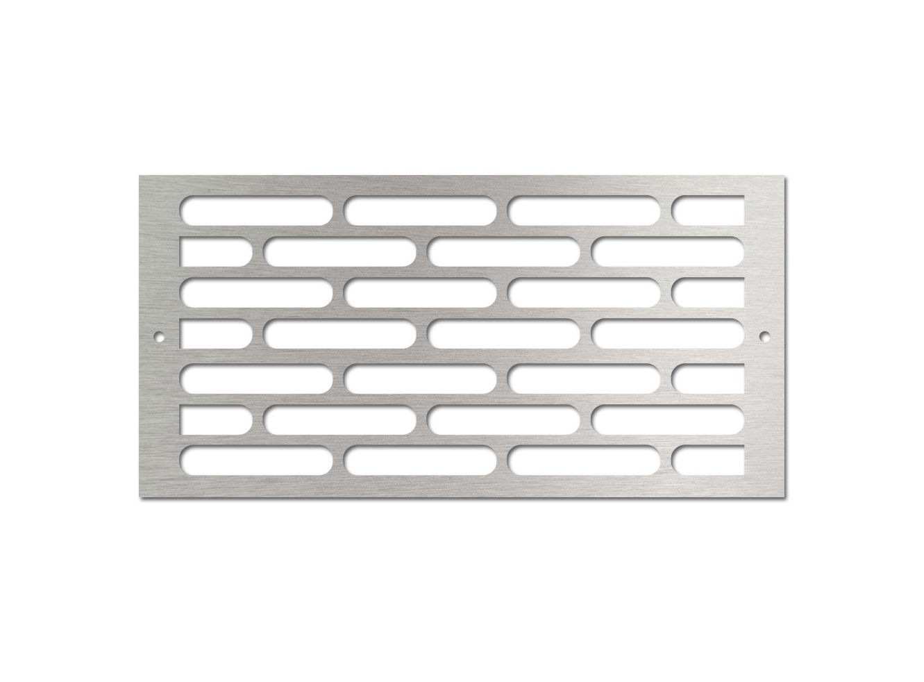 A decorative steel fire pit vent