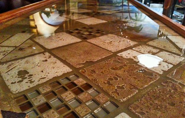 Restaurant Bar Top Epoxy from UltraClear Epoxy