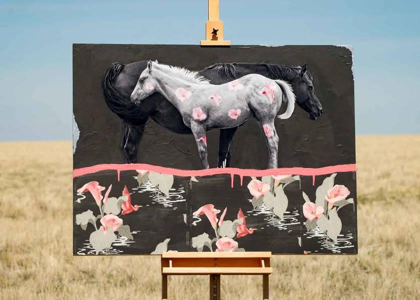 Miles Glynn Fine Art. Fine Art Prints. Western Art. Horse Art. Horse Painting. Modern Western Art. Sorrel Sky Gallery. Santa Fe Art Gallery