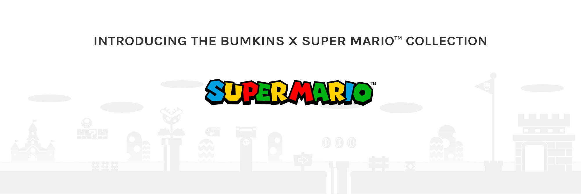introducing the bumkins and super mario collection