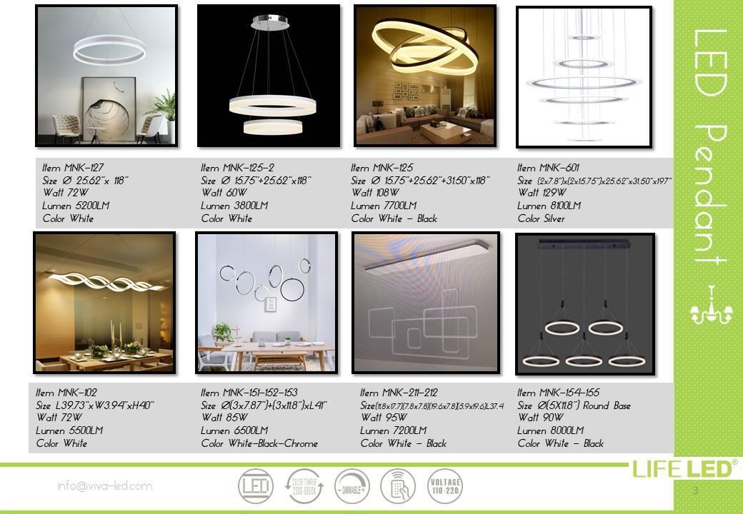 LED Pendant Lights Fixtures Miami Life LED