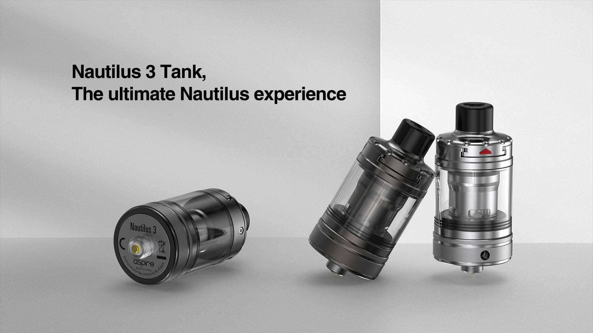Nautilus 3 Tanks | Aspire MTL Tanks | Buy Nautilus 3 Tanks Online
