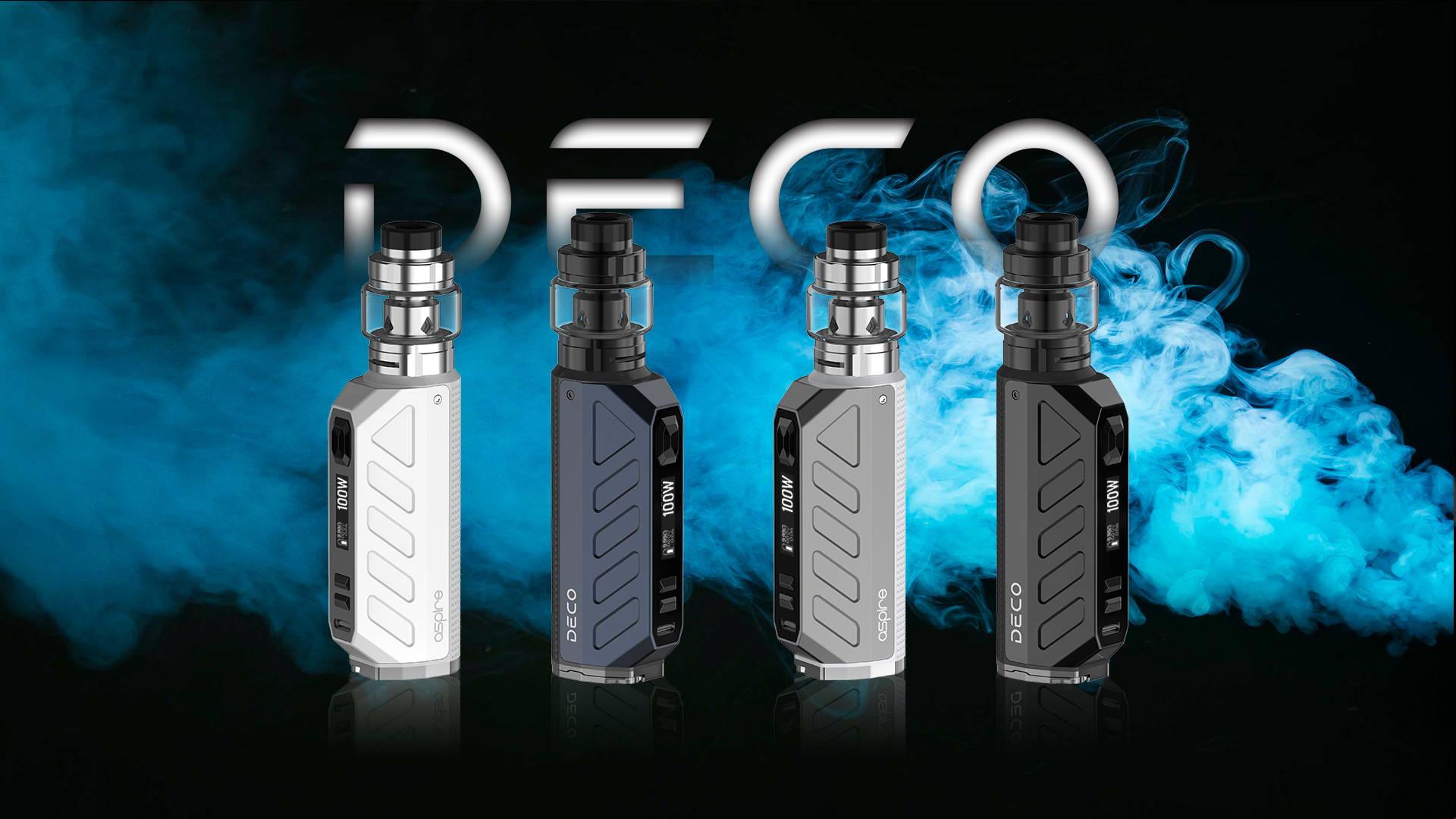 Aspire Deco 100w 18650 / 21700 Regulated Subohm Kit - UK Aspire Vendor