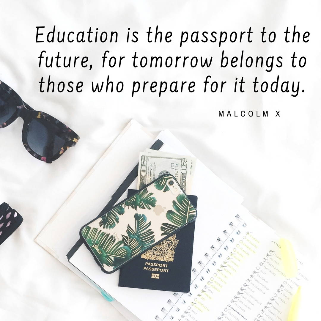 Malcolm X back to school quote about education