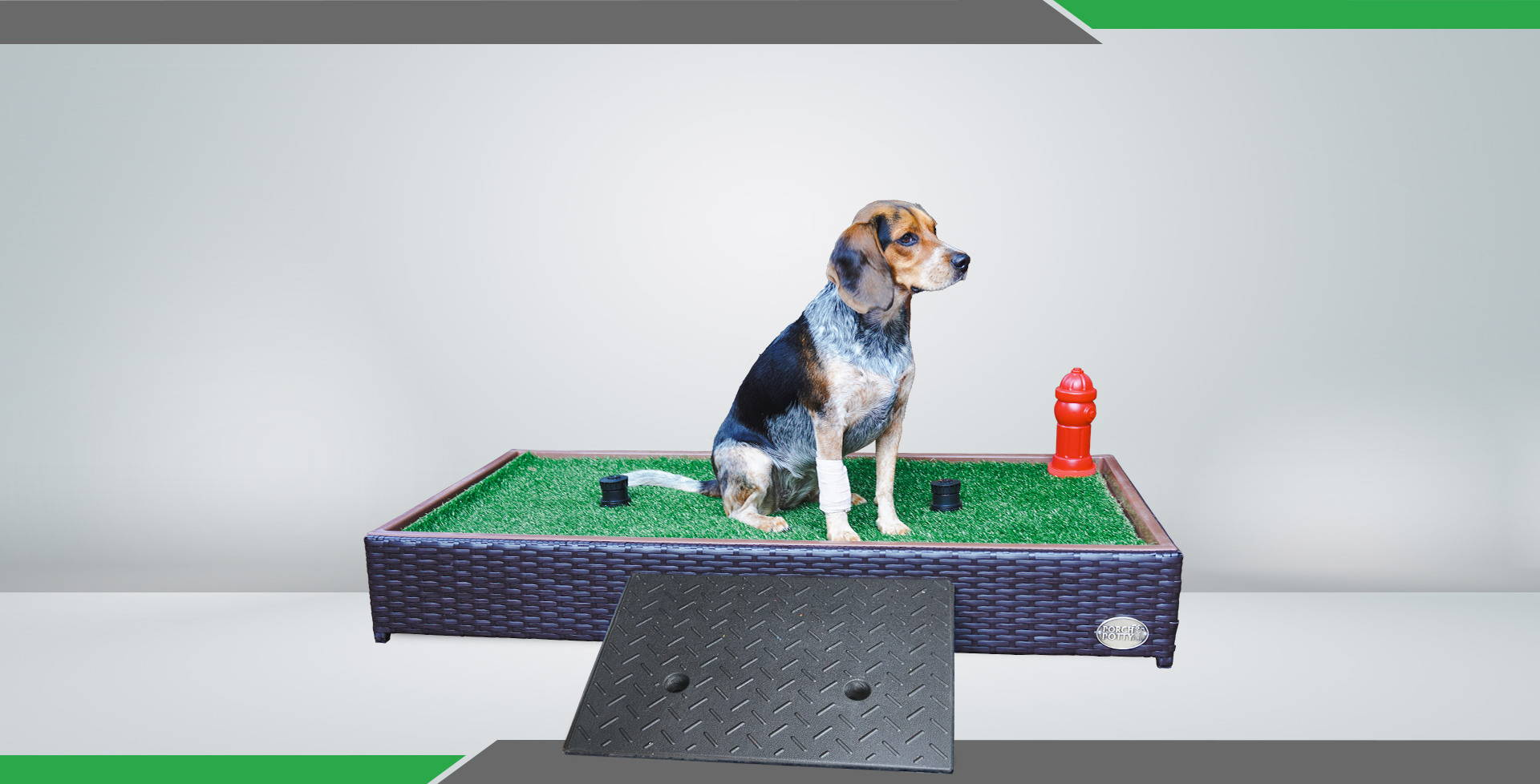 dog ramp for porch potty