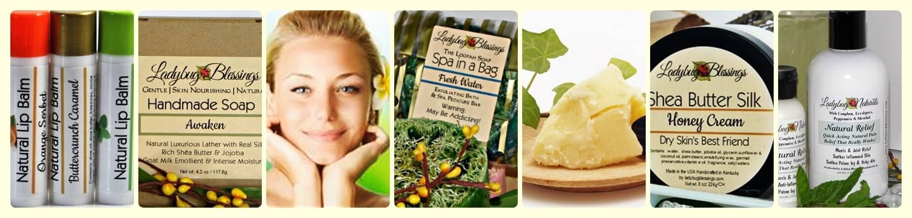 Natural Bath Products, Natural Handmade soap, Natural Bath and Body, Natural Bath and Body Products