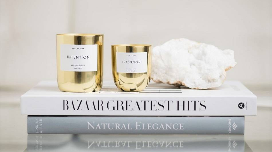 Buy Intention Wellness Candle | Pure Intention Wellness Candle | Made By Yoke