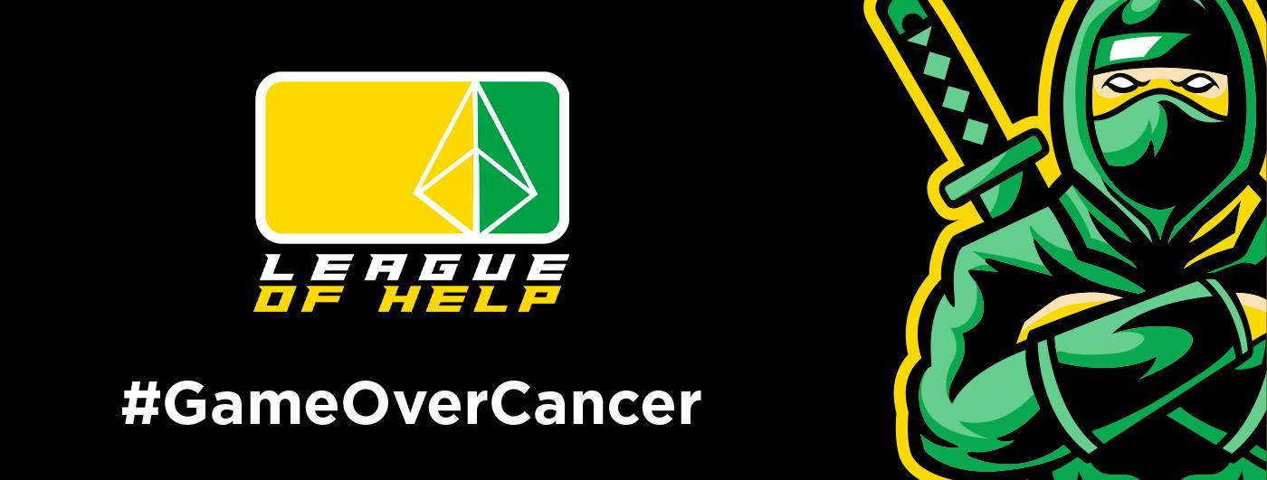 League of help - #GameOverCancer