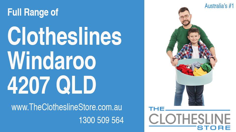 New Clotheslines in Windaroo Queensland 4207