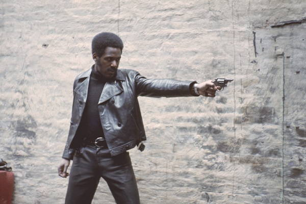 Shaft movie leather jacket