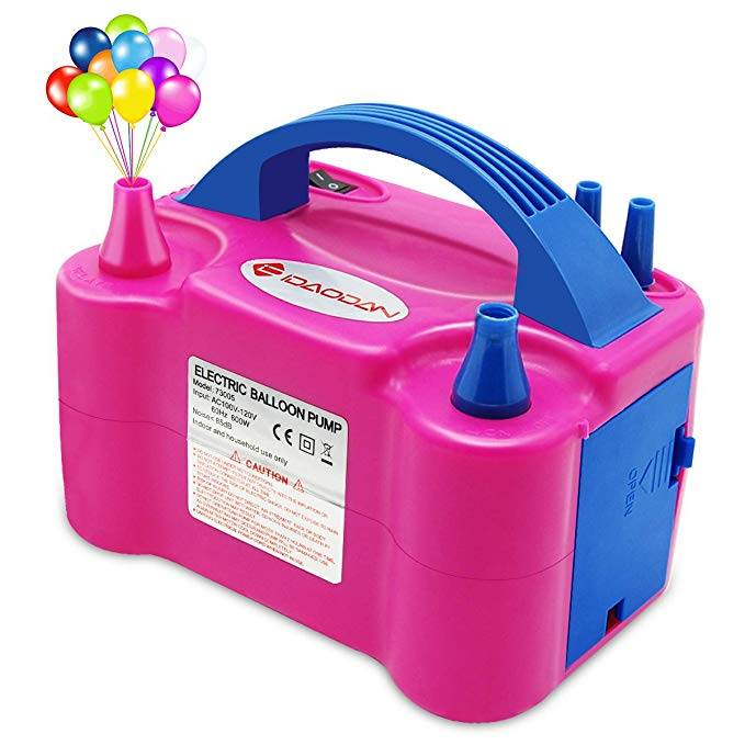 Electric Balloon Blower Pump/Electric Balloon Inflator For Decoration