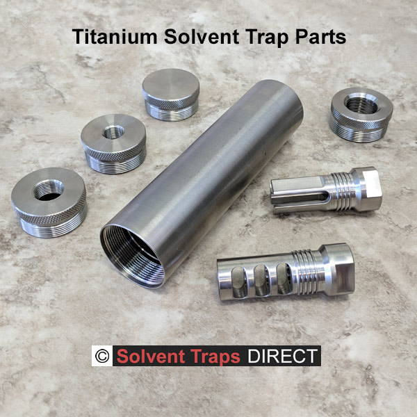Solvent Traps Direct | Solvent Trap Kits, tubes, end caps