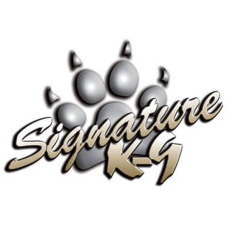 Signature K9 Logo