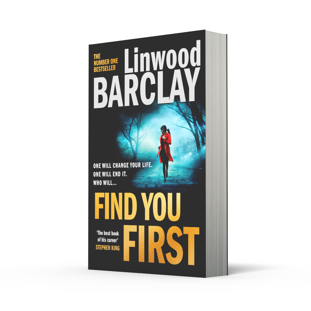 Paperback copy of Find You First