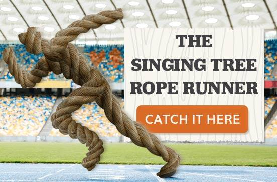 Singing Tree Rope Runner