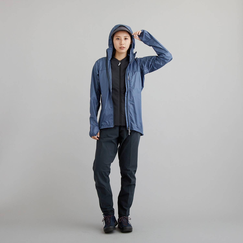 HOUDINI(フーディニ)/カムアロングジャケット/ブルー/WOMENS