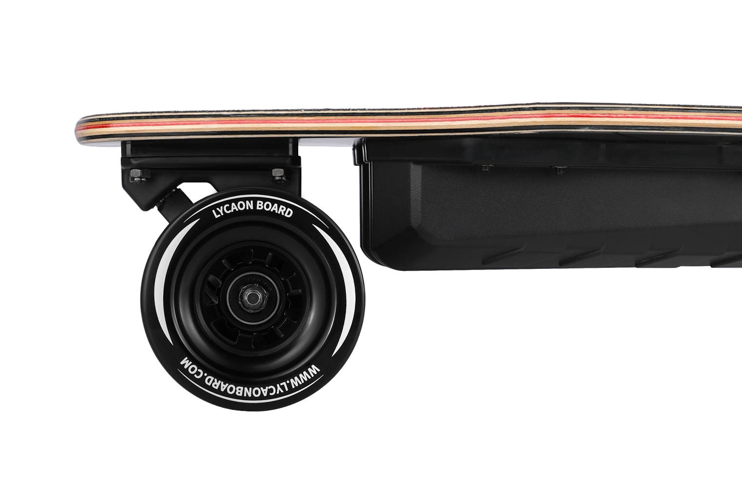 5 driven wheel of Lycaon Electric Skateboard