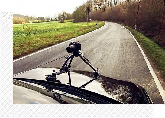 Camtree G-51 Camera Gripper Campod Suction Car Mount