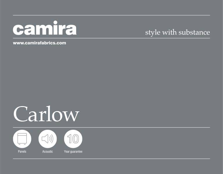 Click here to view the Camira Carlow Acoustic Fabric Swatch